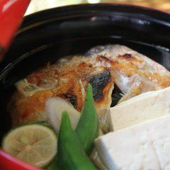 焼き甘鯛の煮物椀